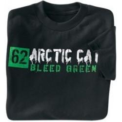 """Тениска, черна """"STENCIL BLEED"""""""