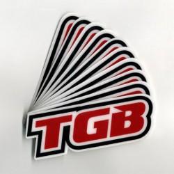 Стикер TGB 10 CM