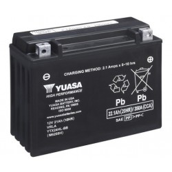 Акумулатор YUASA YTX24HL-BS...