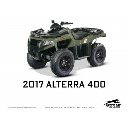 ATV Alterra 400 Model 2017